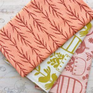 Screen Printed Textiles
